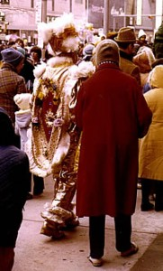 Mummer Couple, 1978